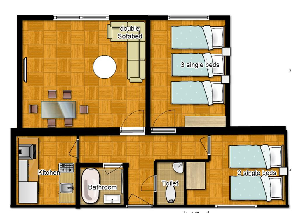 central london two bedroom apartments evans house - Two Bedroom Apartment